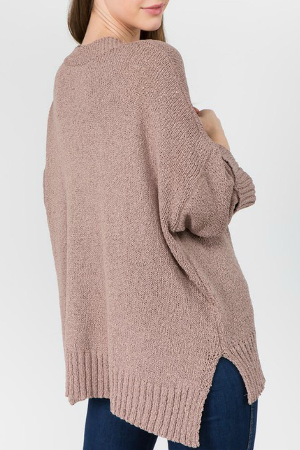 Dreamers Dolly Cuffed Cardigan - Side Cropped Image