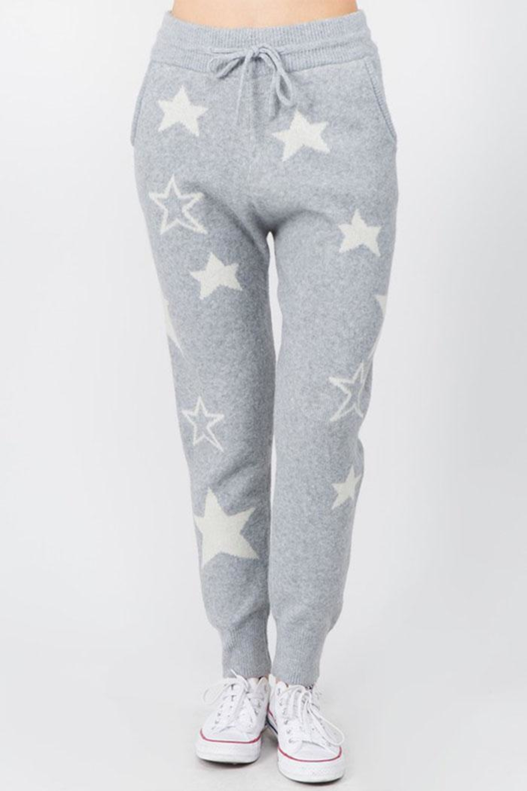 Dreamers Fuzzy Star Pants - Main Image
