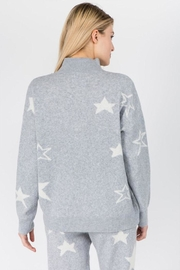 Dreamers Fuzzy Star Sweater - Side cropped