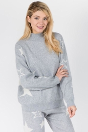 Dreamers Fuzzy Star Sweater - Product Mini Image