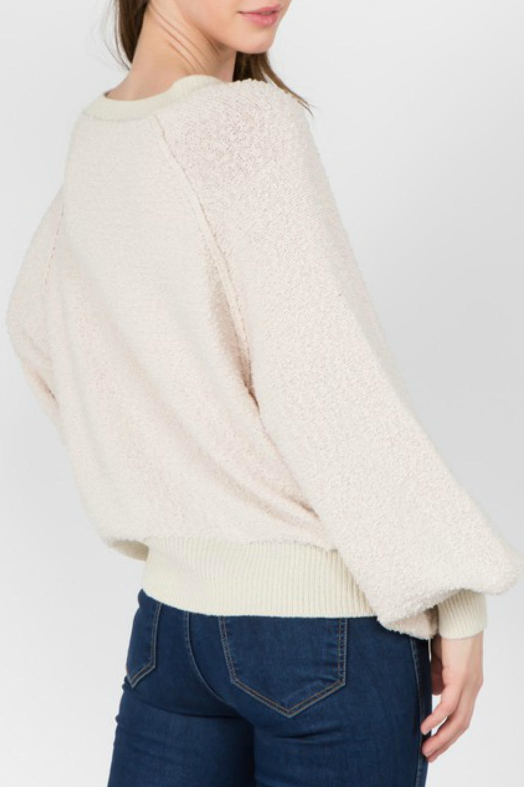 Dreamers Hailee Slouchy Sweater - Front Full Image
