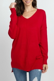 Apricot Lane Lightweight Oversized Sweater - Product Mini Image