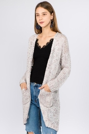 Dreamers Long Knit Cardigan - Product Mini Image