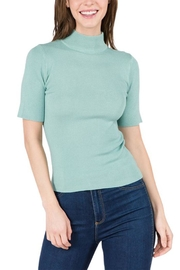 Dreamers Mock-Neck Sweater Top - Product Mini Image