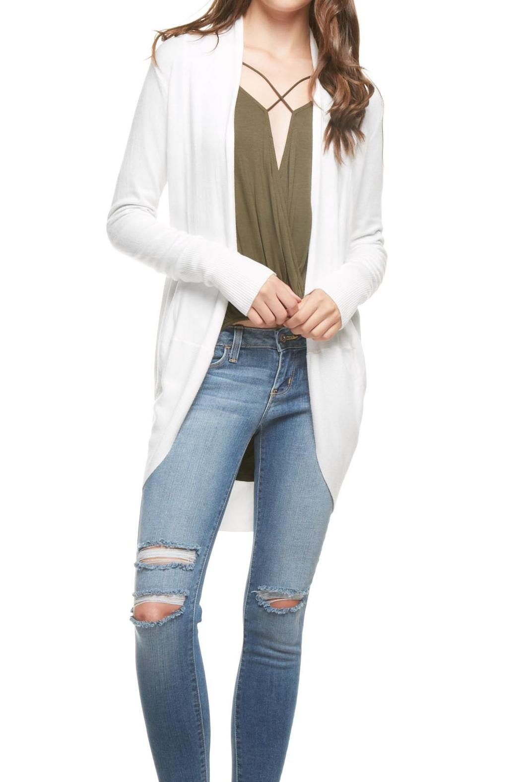 e22260c4c7acc Dreamers Off White Cardigan from Kansas by Apricot Lane - Wichita ...