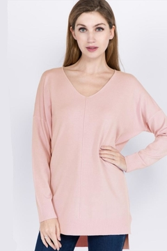 Dreamers Pale Pink Sweater - Alternate List Image