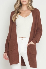 Dreamers Penny Pocket Cardigan - Front cropped