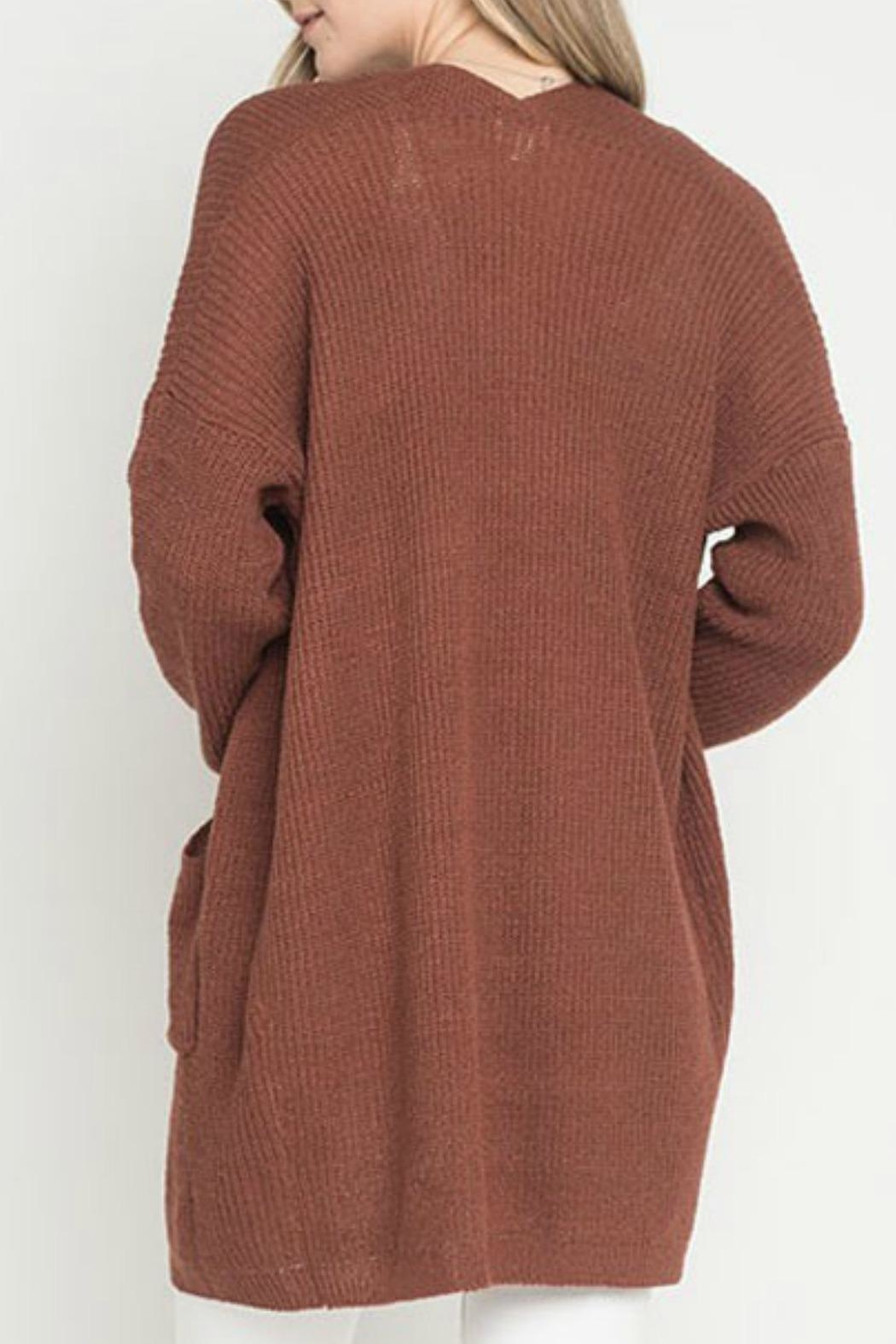 Dreamers Penny Pocket Cardigan - Front Full Image