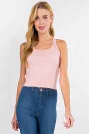 Dreamers Ribbed Tank Top - Product Mini Image