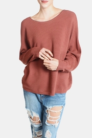 Dreamers Ribbed Ultra Soft Sweater - Product Mini Image