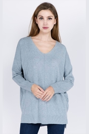 Dreamers Soft Front-Seamed Sweater - Product Mini Image