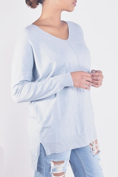 Shoptiques Product: Soft V-Neck Sweater