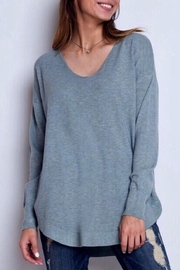 Dreamers Strappy Back Sweater - Front full body