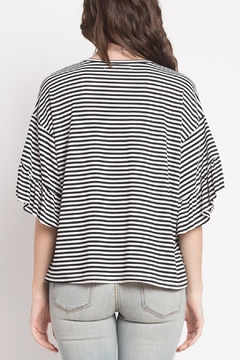 Dreamers Striped Ruffle Top - Alternate List Image
