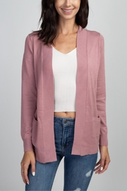 Dreamers Think Pink Cardigan - Front cropped