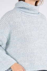 Dreamers Turtleneck Pullover Sweater - Back cropped