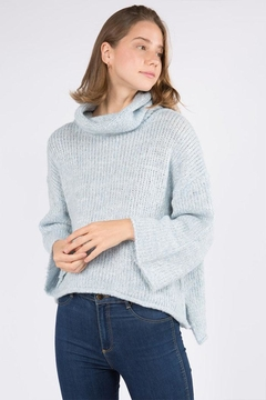 Shoptiques Product: Turtleneck Pullover Sweater