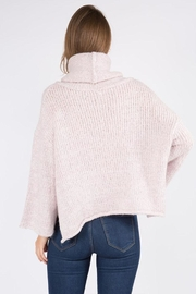 Dreamers Turtleneck Pullover Sweater - Front full body
