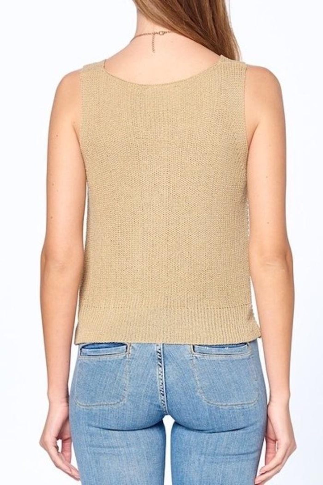 Dreamers Twist Front Top - Side Cropped Image