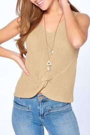 Dreamers Twist Front Top - Front full body
