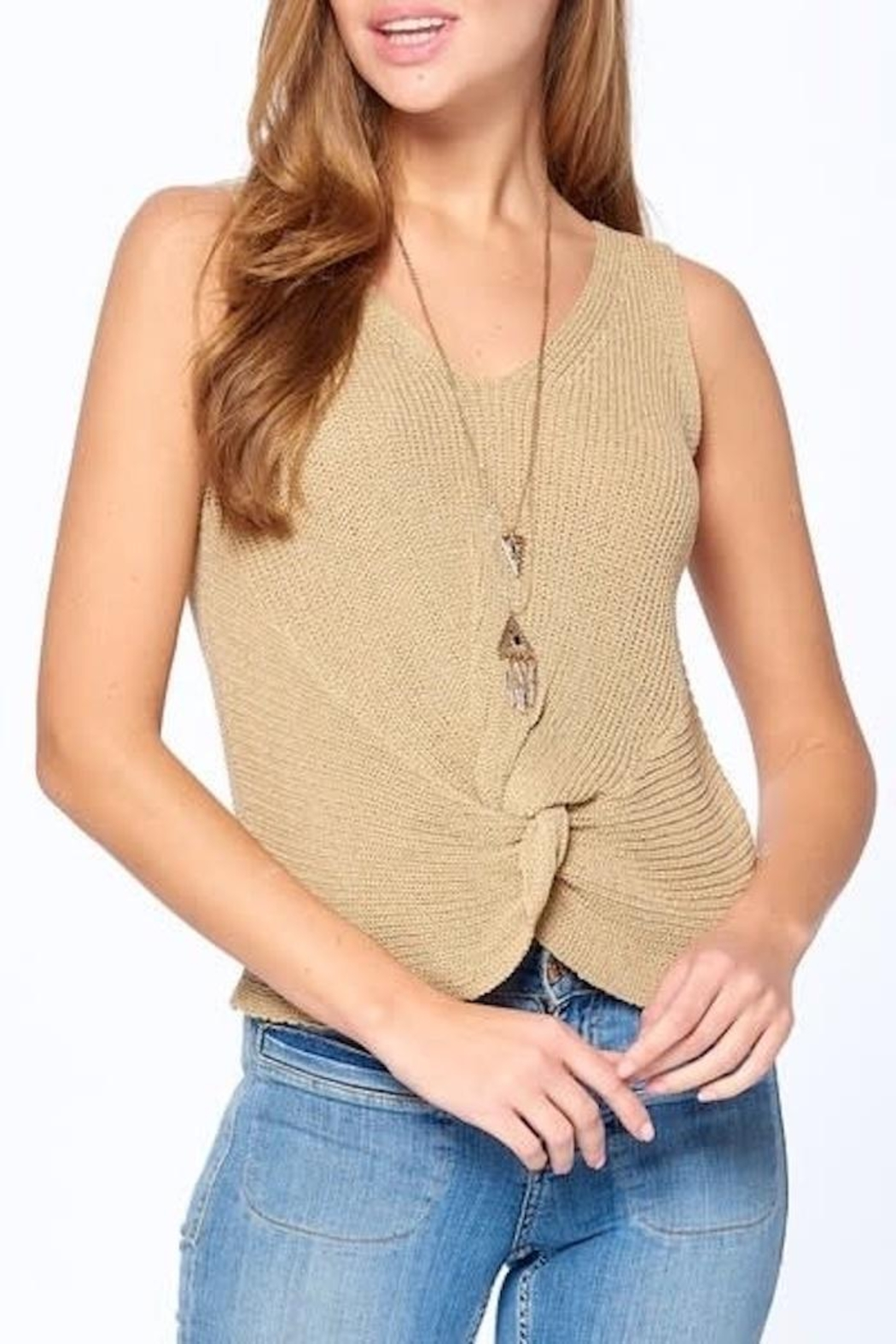 Dreamers Twist Front Top - Main Image