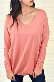 Dreamers V-Neck Sweater - Front cropped