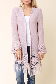 Shoptiques Product: Valerie Sweater Pink