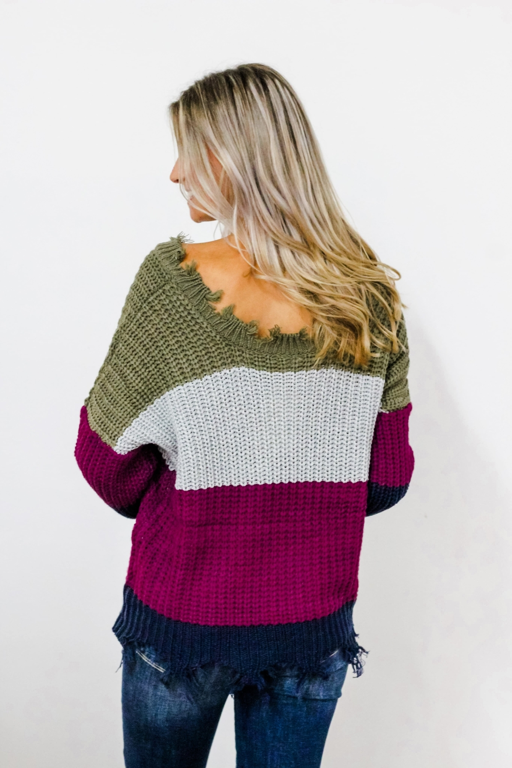 eesome Dreaming of You Sweater - Front Full Image