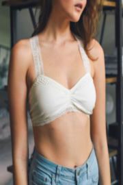 Leto Dreamy Crochet Bralette - Product Mini Image