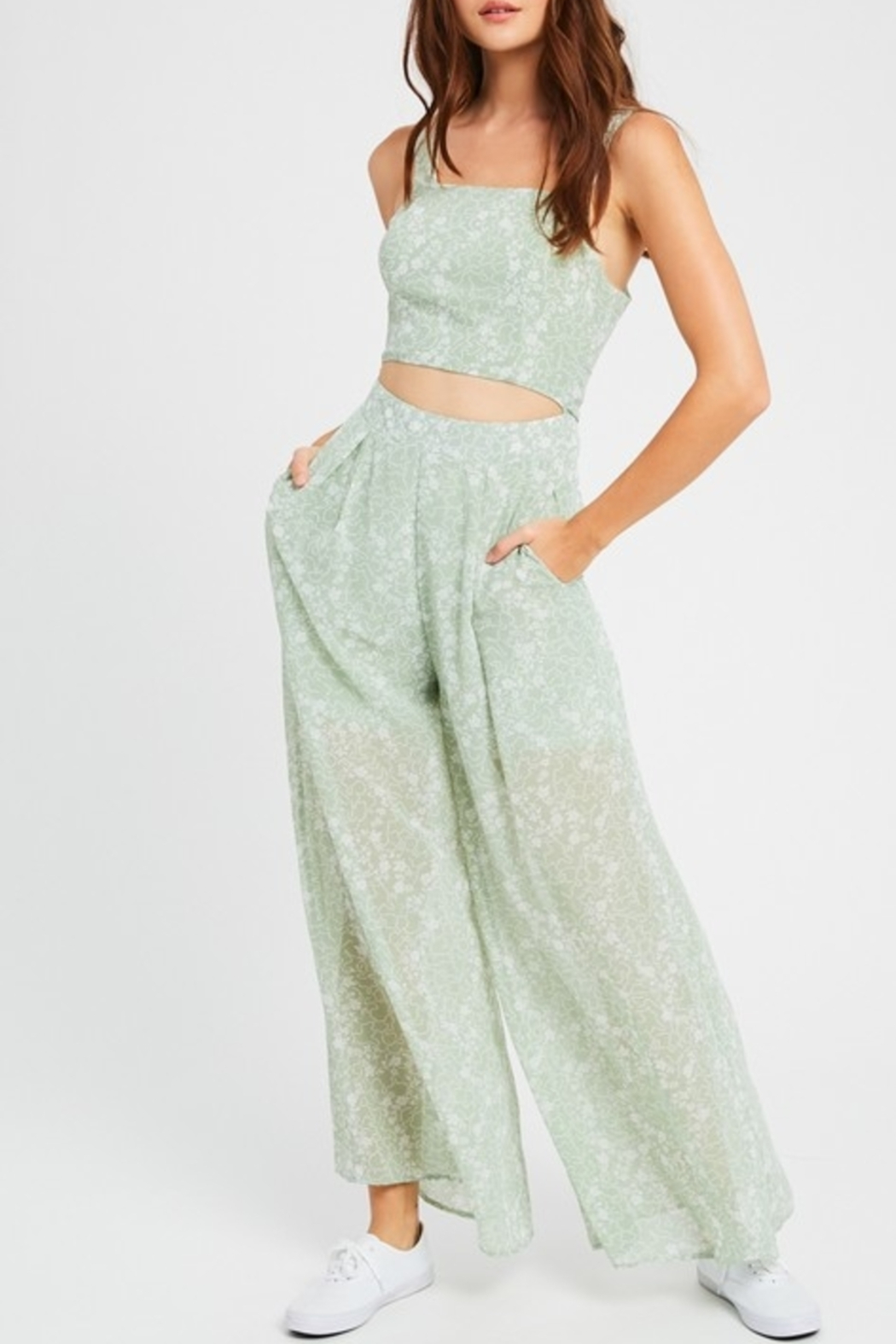 Listicle Dreamy Days jumpsuit - Main Image