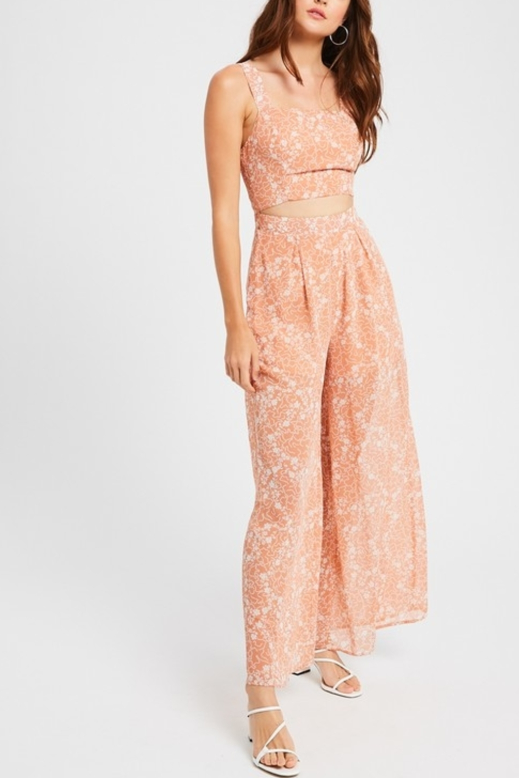 Listicle Dreamy Days jumpsuit - Front Cropped Image