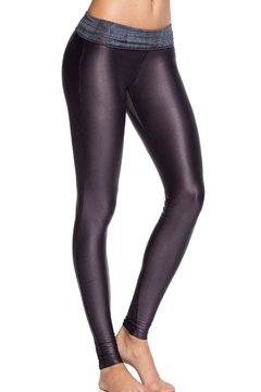 Maaji Dreamy Liquid-Blue Leggings - Alternate List Image
