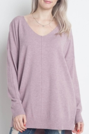 Dreamers Dreamy V-Neck Sweater - Product Mini Image