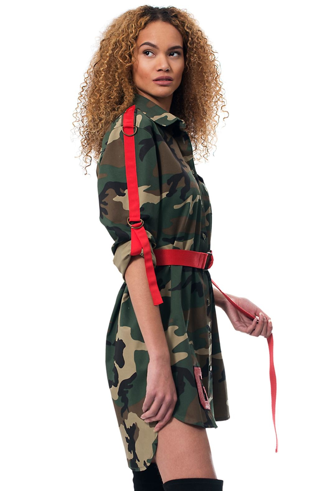 Gypsetters Dress Camo Straps - Front Full Image