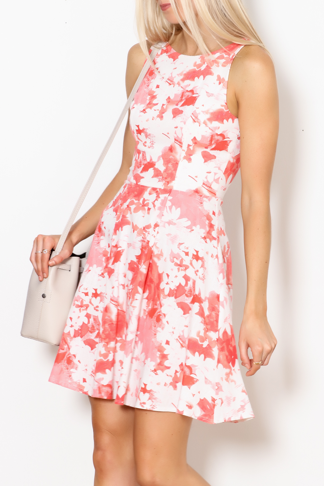Dress Code Floral Tank Dress - Main Image