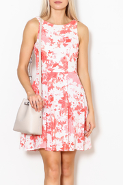 Dress Code Floral Tank Dress - Front full body