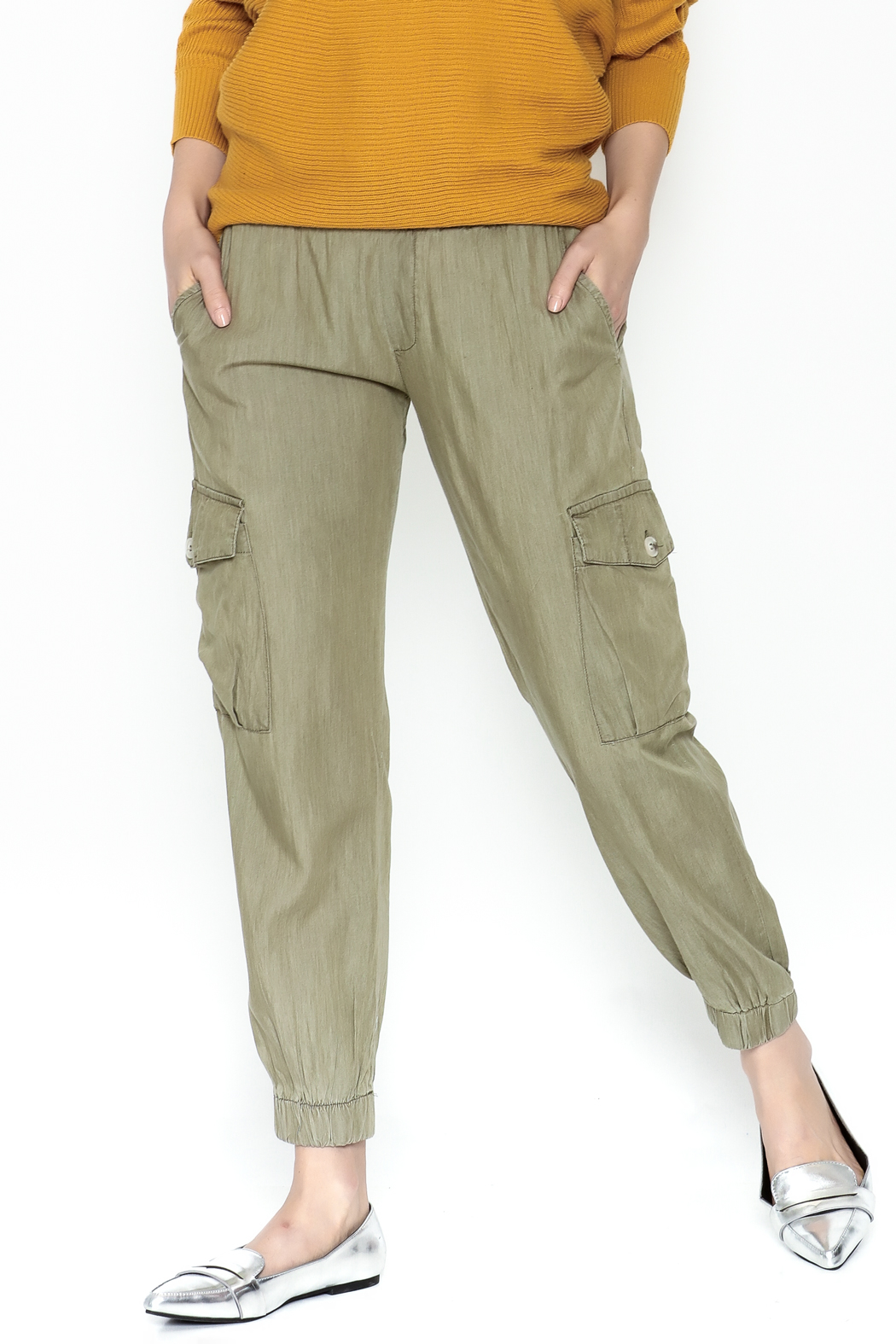 dress forum Cargo Pants - Front Cropped Image