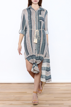 Shoptiques Product: Collared Tie Dress