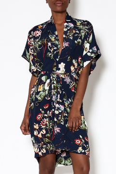 dress forum Navy Floral Kimono Dress - Product List Image