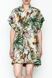 dress forum Floral Print Kimono Dress - Product Mini Image