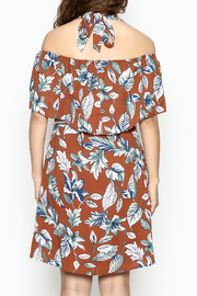 dress forum Halter Tropical Dress - Back cropped