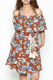 dress forum Halter Tropical Dress - Side cropped