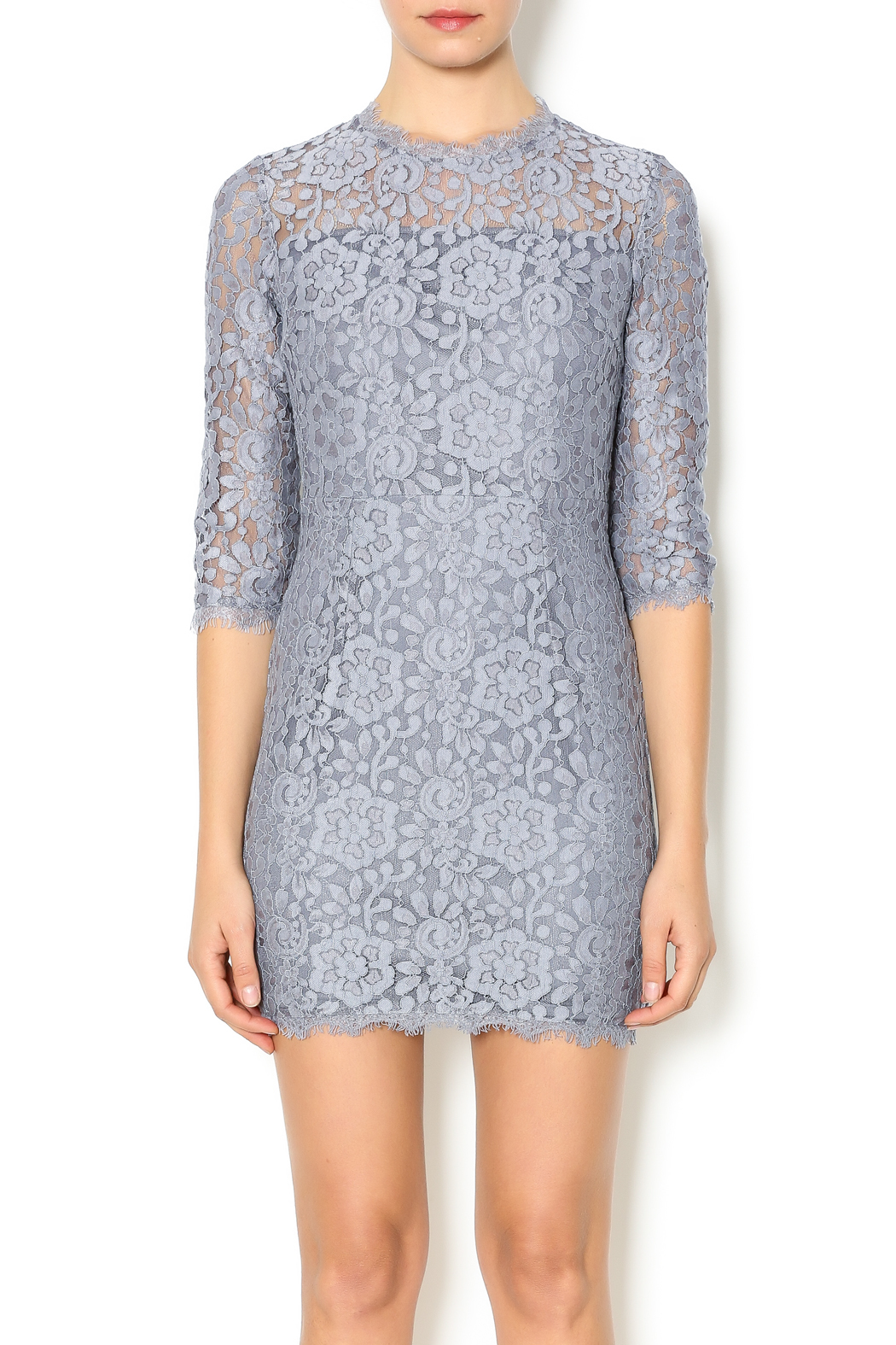 Dress Forum Inc Lace Overlay Dress From New York By Dor Ldor