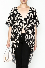 dress forum Leaf Print Blouse - Product Mini Image