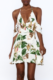 dress forum Ruffle Floral Dress - Product Mini Image