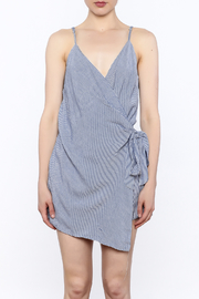 dress forum Stripe Wrap Romper - Front full body