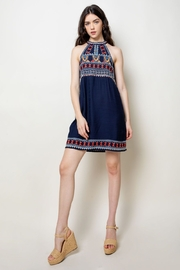 Thml HALTER DRESS - Front cropped