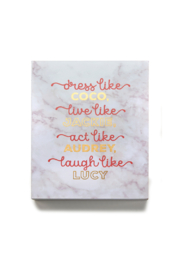Giftcraft Inc.  Dress Like Coco Wall Plaque - Product Mini Image