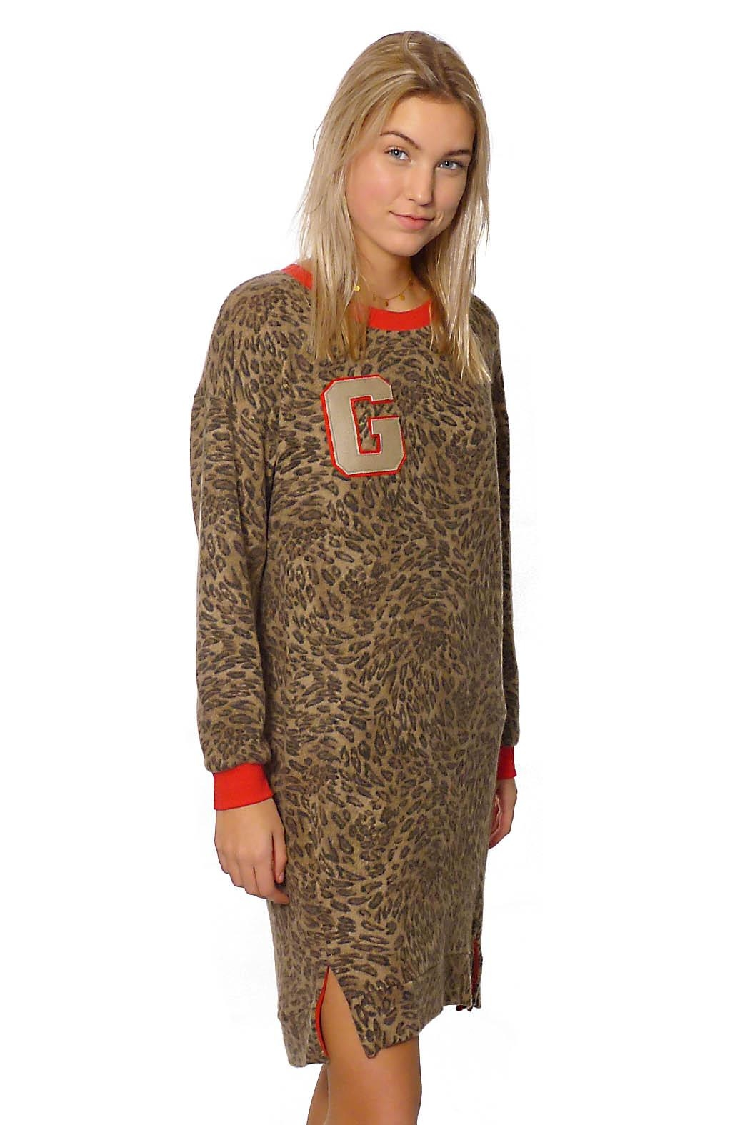 Gypsetters Dress Panther - Main Image