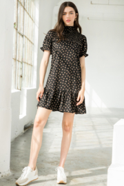 Thml Dress with heart print - Product Mini Image